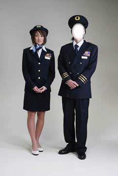 キャビンアテンダント制服レンタル・パイロット制服レンタル