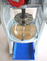 業務用、手動かき氷機使用方法