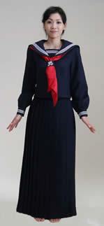 セーラー服(正面)