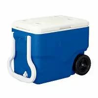 コールマン ホイールクーラー 40QT ブルー/ホワイト