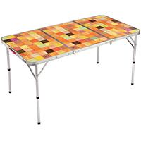 コールマン ナチュラルモザイク リビングテーブル 140プラス