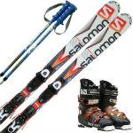 サロモン(SALOMON) スキー3点セット 大...