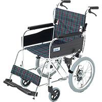 車椅子 介助式 サイズ中