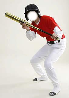 野球ユニフォーム(赤)