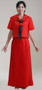 赤色・青色セーラー服
