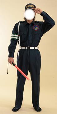 ガードマン シャツ型制服