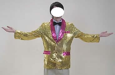 司会者衣装 ゴールド