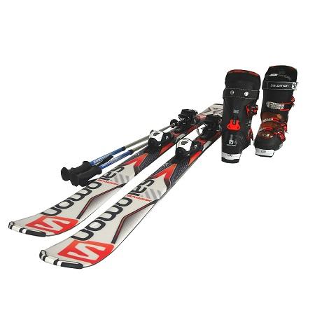 メンズ スキーセット サロモン