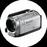 ビデオカメラ・スクリーン・プロジェクター