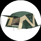 キャンプテント・タープ・テントマット・シュラフ