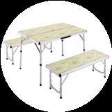 アウトドアテーブル・ベンチ・チェア